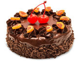 Pastel de chocolate — Foto de Stock