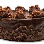Chocolate cake — Stock Photo #13613299