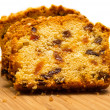 Cake with raisins — Stock Photo #13841761