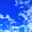 Blue sky with clouds — Stock Photo #18654339