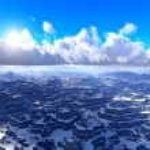góry zimąna białym tle stary - modny klasyczne drewniane — Zdjęcie stockowe