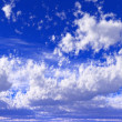 Blue sky with clouds — Stock Photo #18953729