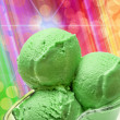 Foto Stock: Ice cream