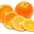 Orange isolated on white background — Stock Photo #19592115