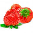 Strawberry isolated on white background — Stock Photo #20666575
