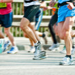 Marathon runners — Stock Photo #47006659