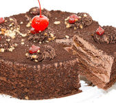 Chocolate cake — Foto de Stock