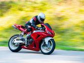 Motorbike racing — Stock Photo