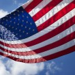 United States of America Flag - Foto de Stock  