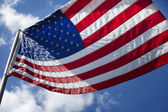 United States of America Flag — Stock fotografie