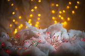 ホリデー ライト — ストック写真