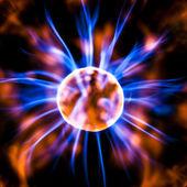 Plasma statische elektrizität — Stockfoto