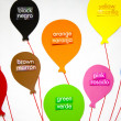 English and Spanish Colors - Foto de Stock  