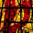 stained glass window — Stock Photo
