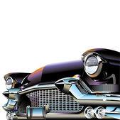Coches y motos clásicas — Vector de stock
