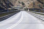 Asphalt road — Stockfoto