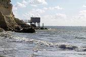 шаранта побережье — Стоковое фото