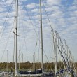 Stock Photo: Sailboats masts