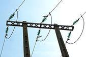 электрический столб — Стоковое фото