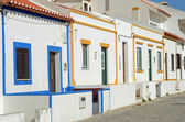 Facades of houses in Portugal Village — Stock Photo