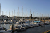 Marina in Royan, France — Stock Photo
