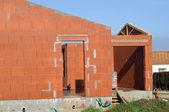 建設中の家 — ストック写真