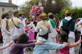 Carnival kindergartens — Stock Photo