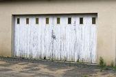 Dřevěná brána — Stock fotografie