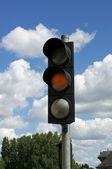 Luzes de tráfego — Fotografia Stock