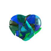 Abstract Broken Heart — Stock Photo