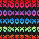 Abstract colorful Geometric triangles background — Wektor stockowy