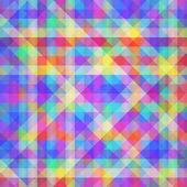 Abstrato geométrico e colorido. — Vetorial Stock