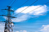 Electric tower — Stock Photo