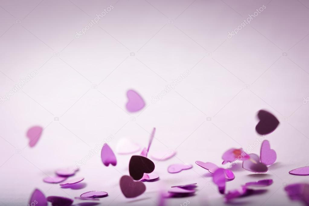 Bad shoot of falling hearts :)  Stock Photo #19618215