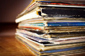 Old records — Stock Photo