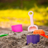 Sand Pail and Shovel — Stock Photo