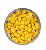 Can of Corn — Stock Photo