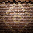 Brick Wall - Stok fotoraf