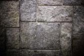 Grey Stone Wall — Stock Photo