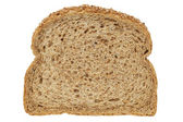 Wholewheat slice — Stock Photo
