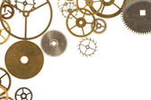 Watch Cogs on White — Stock Photo
