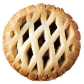 Mince Pie Isolated — Stock Photo