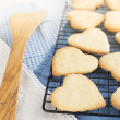 Heart Shaped Cookies — Stock Photo #40864325
