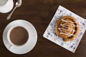 Tea and Pastry — Stock Photo