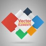 Abstract paper infografics. Vector illustration — Stock Vector #30673199