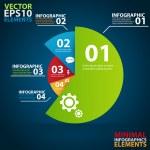 Minimal infographics. Vector Illustration — Stock Vector #31021509