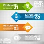 Minimal infographics. Vector Illustration — Stock Vector #31021529