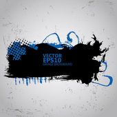 Grunge Splash banners in colors — Stock Vector