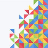Vektor triangel bakgrund — Stockvektor