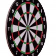 Sideview of dart board — Stock Photo